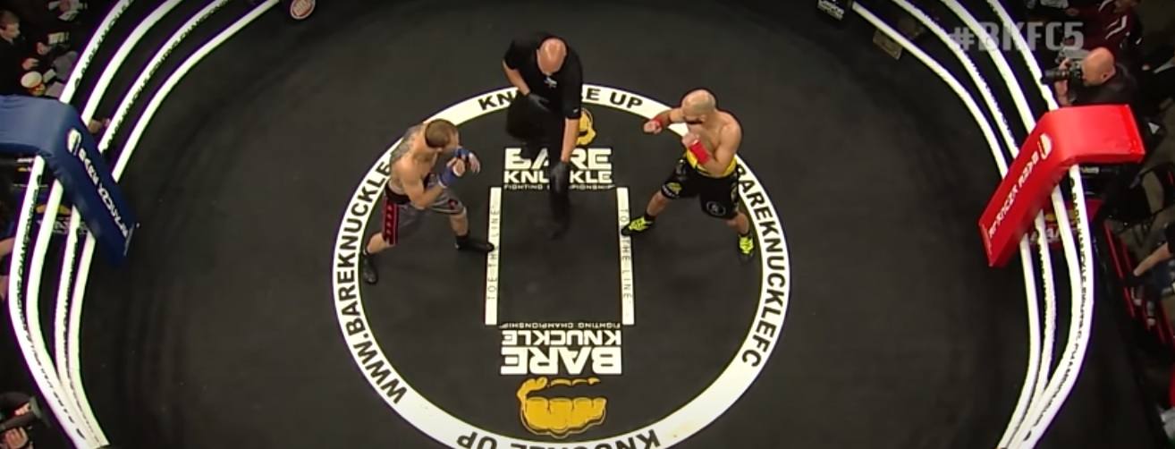 BKFC (Bare Knuckle Fighting Championship).