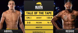 Reggie Barnett Jr. vs Abby Velazquez